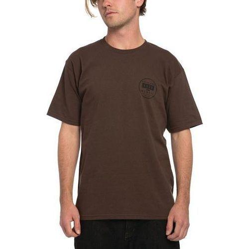 koszulka KREW - Stax Regular Tee Chocolate Brown (278) rozmiar: M