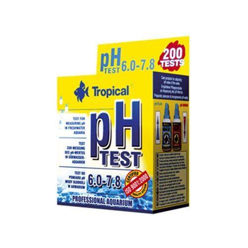 TROPICAL Test pH 7- tester do oznaczenia twardości wody 1szt (5900469801024)