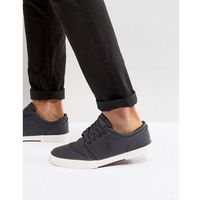 faxon trainers perforated nylon in dark grey - grey, Polo ralph lauren