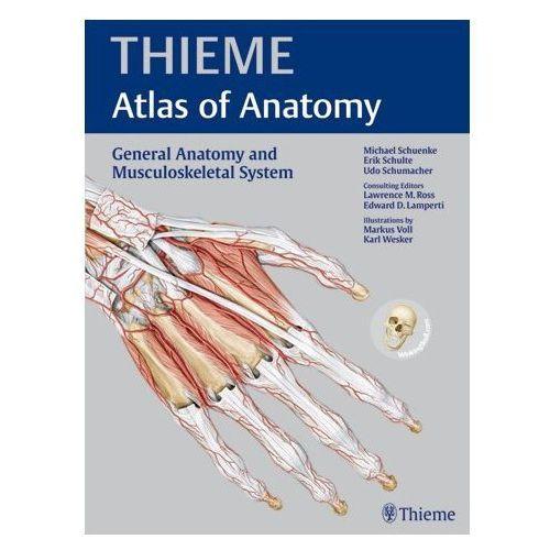 General Anatomy and Musculoskeletal System (THIEME Atlas of Anatomy) (542 str.)
