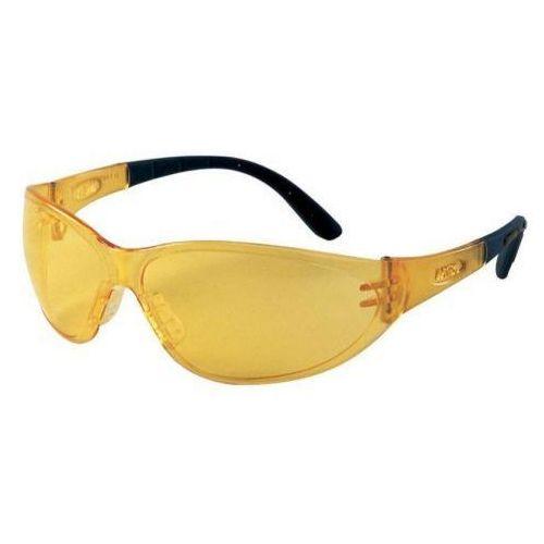 Okulary ochronne Perspecta 9000 bursztynowe /żółte (4032792231252)