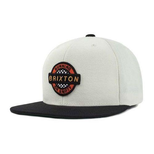 czapka z daszkiem BRIXTON - Speedway Snbk Off White/Black (OFFBK) rozmiar: OS