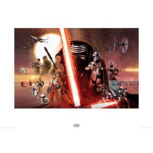 OKAZJA - Star wars the force awakens galaxy - reprodukcja od producenta Brak