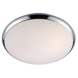Italux Plafon lampa sufitowa kreo 5005-s okrągła oprawa do łazienki ip44 chrom biała (5900644405672)