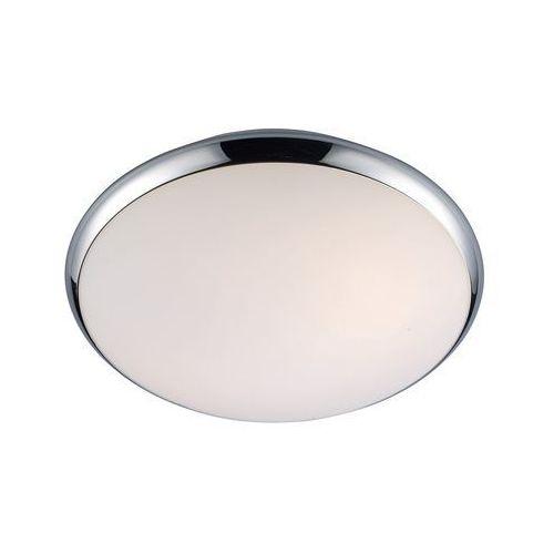 Italux Plafon lampa sufitowa kreo 5005-s okrągła oprawa do łazienki ip44 chrom biała