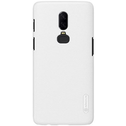 Etui Nillkin Frosted Shield OnePlus 6 - White - White (6902048158214)