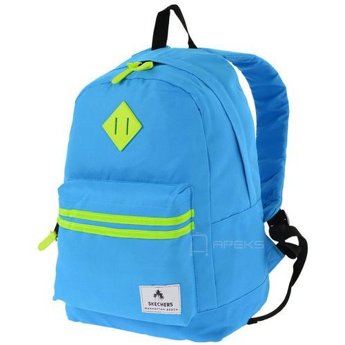 Skechers Neonsplash plecak miejski - tablet - niebieski