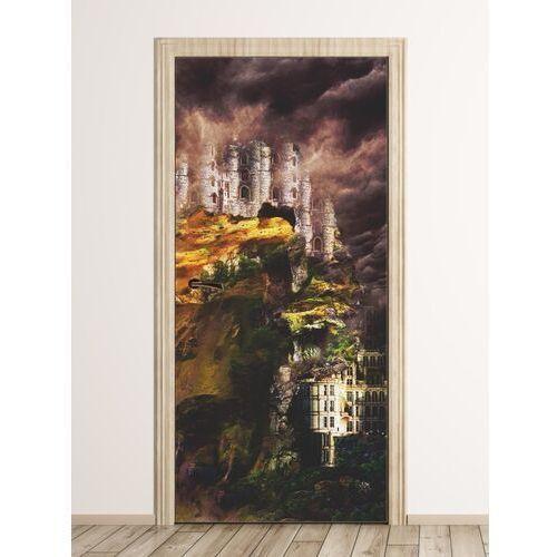 Fototapeta na drzwi abstrakcyjny zamek fp 6241 marki Wally - piękno dekoracji