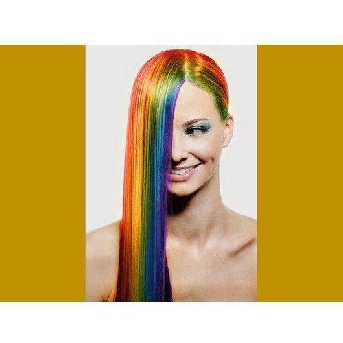 Go Zmywalny kolorowy spray do włosów 125 ml - złoty