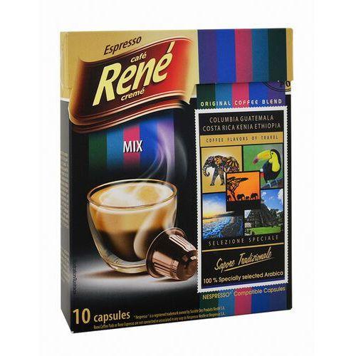 Rene mix single origin 10 kapsułek do nespresso marki Nespresso kapsułki