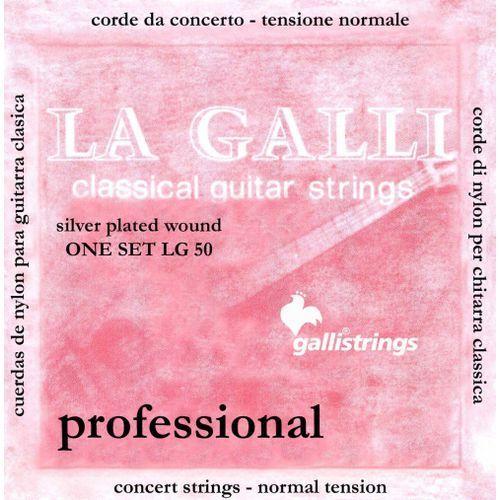 Galli LG50 N - struny do gitary klasycznej