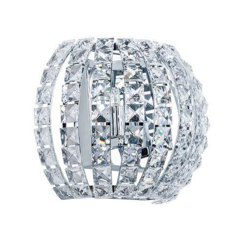 Italux Kinkiet lampa ścienna monde w0109-02a-f4ac halogenowa oprawa glamour z kryształkami crystal przezroczysta (5900644347088)