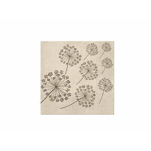 Serwetki we care dandelions 33 x 33 cm 20 szt. marki Paw decor