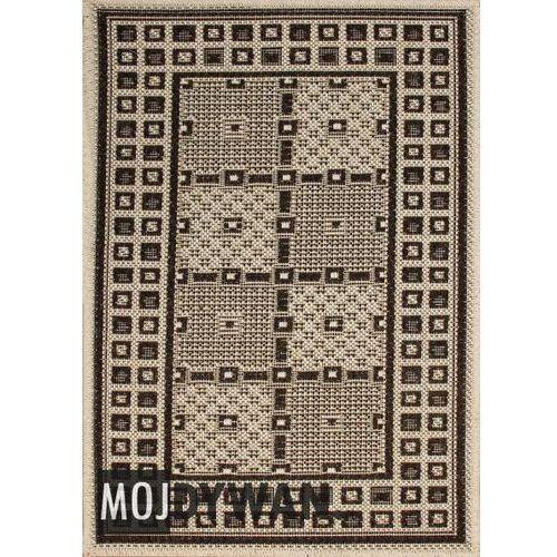 Dywan natura pt szachownica jasny beżowy 050x080 prostokąt od producenta Dywanstyl.pl