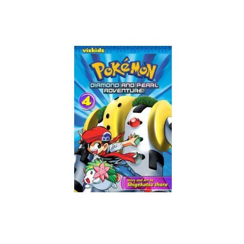 Pokemon Diamond and Pearl Adventure!, Volume 4, Ihara, Shigekatsu