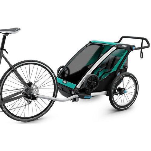 Thule Chariot Lite2 Przyczepka rowerowa zielony/czarny 2018 Przyczepki dla dzieci (0872299046157)