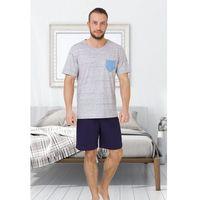 Piżama M-Max Tymon 608 kr/r M-2XL ROZMIAR: M, KOLOR: szary melange, M-Max, 101060802137