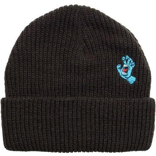 czapka zimowa SANTA CRUZ - Screaming Mini Hand Beanie Black (BLACK) rozmiar: OS