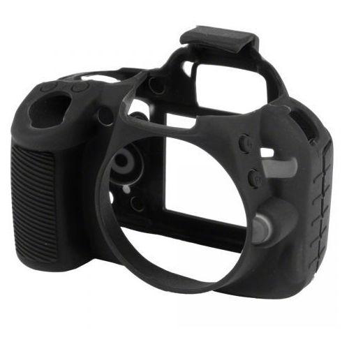 Easycover  osłona gumowa dla nikon d3100 czarna