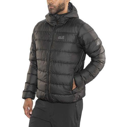 Jack wolfskin helium kurtka mężczyźni czarny l 2018 kurtki zimowe i kurtki parki