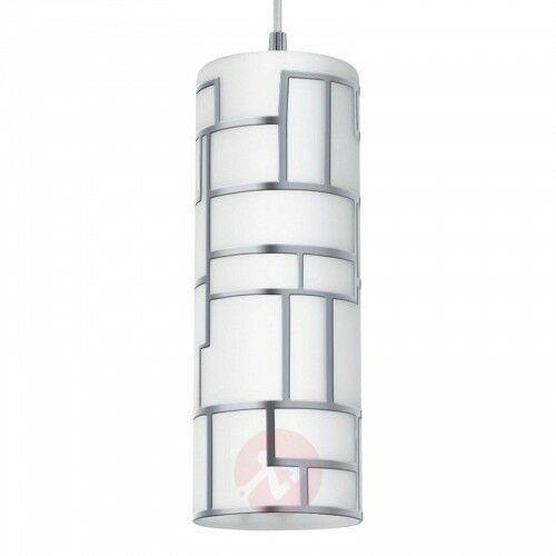 Eglo Smukła lampa wisząca bayman z ornamentem z linii