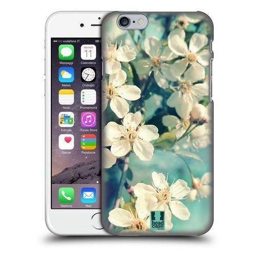 Etui plastikowe na telefon - Flowers WHITE SPRING CHERRY BLOSSOMS, kolor biały