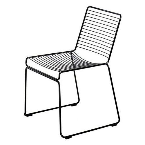 Krzesło Dilly Black/ czarne metalowe D2.DESIGN (5902385732277)