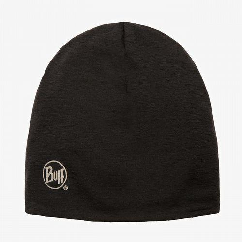 Buff  czapka merino wool revers ible solid