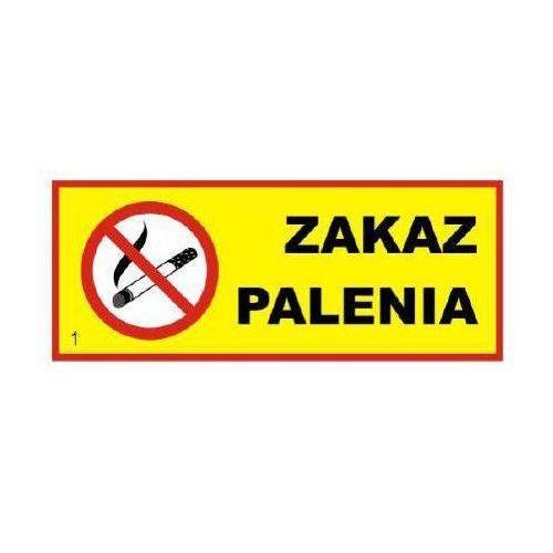 """Znak """"ZAKAZ PALENIA"""" - TYP II - 10 x 27 cm, towar z kategorii: Znaki informacyjne i ostrzegawcze"""