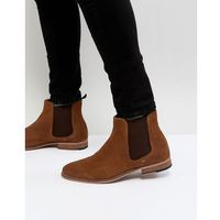 harrington suede chelsea boots in tan - tan, Walk london