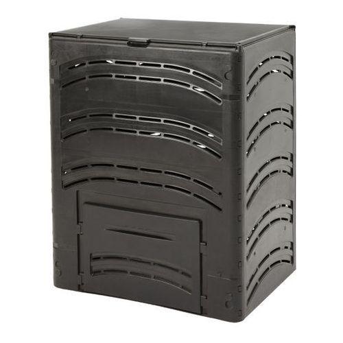 Kompostownik 80 x 80 x 100 cm 650 l czarny (3700242101882)