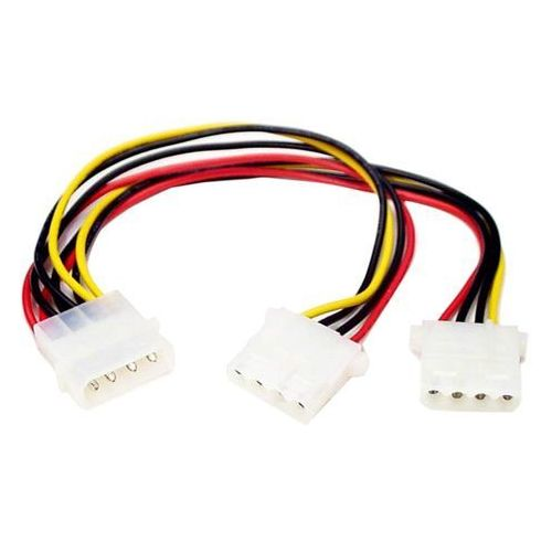 Startech.com pyo2l 4-stykowe złącze molex y-cable (4054318721160)