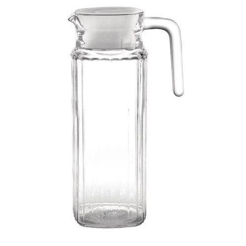 Szklany dzbanek z karbowaną powierzchnią | 1L | 6szt.