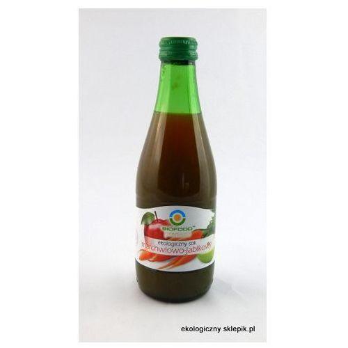 Sok jabłkowo-marchwiowy BIO 6x300ml z kategorii Napoje, wody, soki
