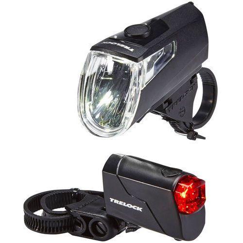 Trelock LS 360 I-GO ECO+LS 720 REEGO Zestaw oświetlenia czarny Lampki na baterie - zestawy