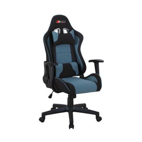 Fotel gamingowy zanda czarny-niebieski marki Signal