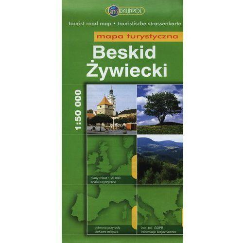 Beskid Żywiecki Mapa turystyczna 1:50 000, Daunpol