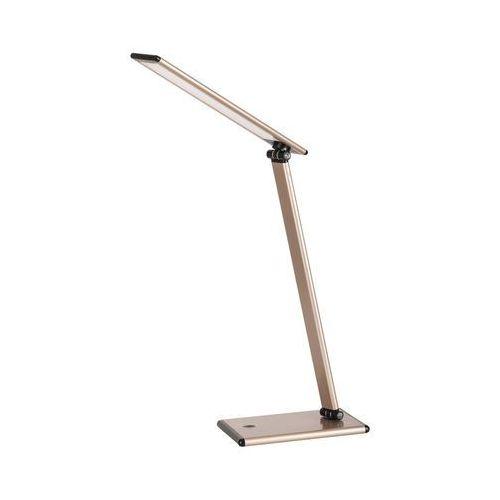 Lampa stołowa lampka biurkowa Rabalux Brooke 1x7W LED szampan 4180, 4180