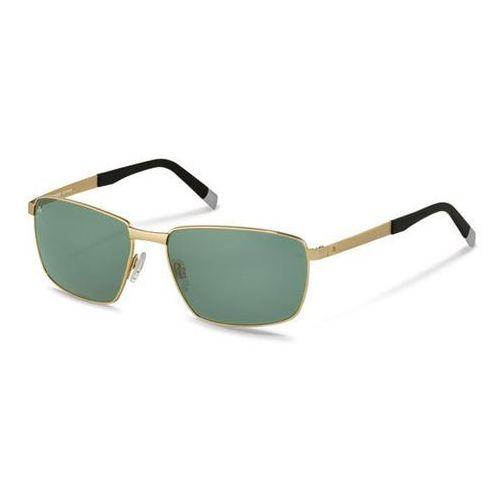Okulary Słoneczne Rodenstock R7409 C, kolor żółty