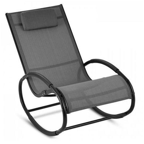 retiro fotel bujany aluminium poliester szary marki Blumfeldt