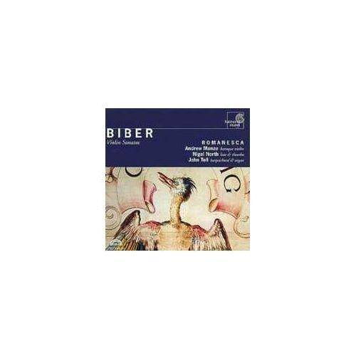 Harmonia mundi Biber: 8 violin sonatas / romanesca (0093046734428)