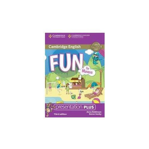 Fun for Movers Presentation Plus DVD - Anne Robinson, Karen Saxby. DARMOWA DOSTAWA DO KIOSKU RUCHU OD 24,99ZŁ (9781107484047)
