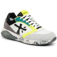 Sneakersy PREMIATA - Zaczac 4557 White/Yellow, w 7 rozmiarach