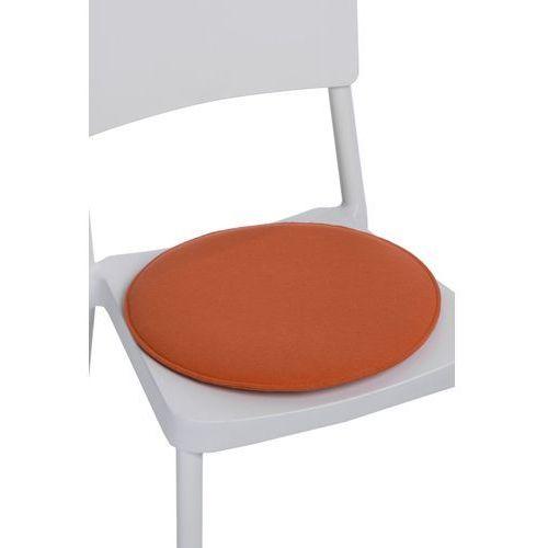 Poduszka na krzesło okrągła pomarańczowa MODERN HOUSE bogata chata, 78671