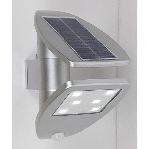 Lutec zeta zewnętrzny kinkiet led siwy, 1-punktowy - nowoczesny - obszar zewnętrzny - zeta - czas dostawy: od 4-8 dni roboczych marki Lutec by eco light