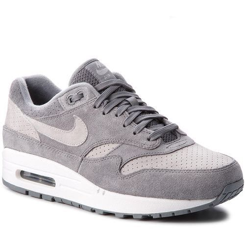 Buty NIKE - Air Max 1 Premium 875844 005 Cool Grey/Wolf Grey/White, kolor szary