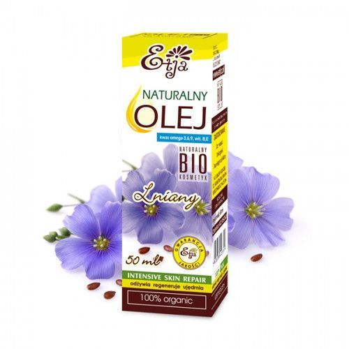 - organiczny olej lniany bio marki Etja