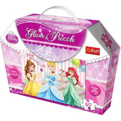 Trefl Puzzle  glam księżniczki 14802 (50 elementów)