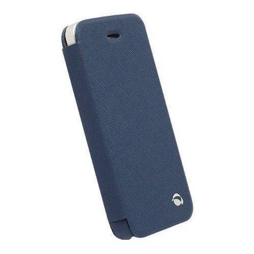Etui IPHONE 5/5S/5C FlipCOVER KRUSELL MALMO niebieski (7394090756026)