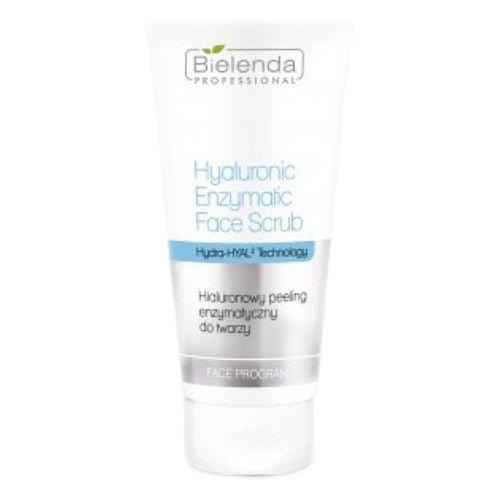 hyaluronic enzymatic face scrub hialuronowy peeling enzymatyczny do twarzy marki Bielenda professional